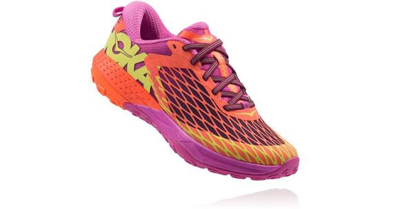 Hoka W's Speed Instinct Shoes NEON CORAL/PLUM